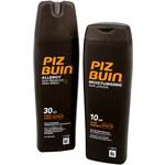 Piz Buin Letní balíček - Sprej na opalování SPF 30 200 ml + Mléko na opalování SPF 10 200 ml ZDARMA