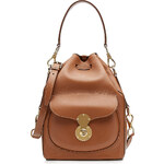 Ralph Lauren Collection Ricky Leather Bucket Bag