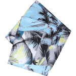 Modro - žlutý vzorovaný šátek Pieces Joannes