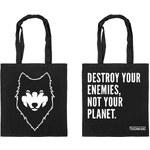 Vehement Wolf-Jutebeutel: bio, fairtrade, vegan
