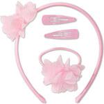 Mädchen Haar-Set in rosa von C&A