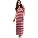 Červené šaty MOE 169 L