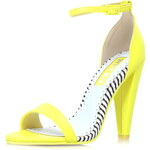Topshop **High Heel Ankle Strap Sandals by Miss KG