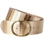Promod Wide leather belt