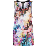 Topshop Floral Print Airtex Tank Top by Escapology