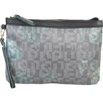 Stylové dámské psaníčko Sisley / Claret - odstíny šedé univerzální