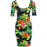 Terranova Tropical print dress