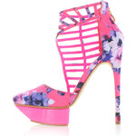 Fuchsiové sandály Datka EUR37