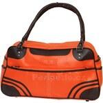 70sUp - Zipper Big 10 - Retro kabelka - Oranžová