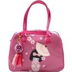 Vendula London Vendula - Weekender Geisha - Designová kabelka - Růžová