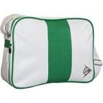 Dunlop - Stripes - Taška přes rameno -Bílo - Zelená