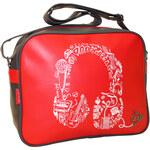Dunlop - Headset - Taška přes rameno - Červená