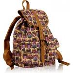 Dámský batoh Owl 269C béžový