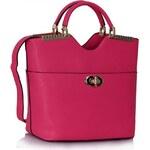 Dámská kabelka Clara 074A růžová