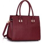 Dámská kabelka Marcelle 0337 vínová