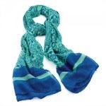 Dámský šátek Glitters 29343 modrý