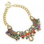Barevný náhrdelník Inna 29333