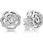 Pandora Boucles oreilles Boucles d'oreilles 290575CZ - Boucles d'oreilles Rose Scintilla