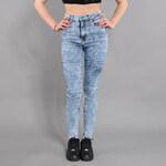 Urban Classics Ladies High Waist Denim Skinny Pants blue denim