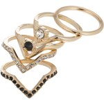 ALDO TRIELLAN SET Ring black
