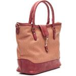BELLE WOMEN Unikátní hnědá skvělá kabelka - D60134Z /T74