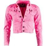 Dámská džínová bunda Sublevel - Neon pink