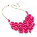 Dámský náhrdelník 29272 RŮŽOVÝ