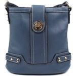 Elegantní prošívaná kabelka z Eko kůže Barva: Modrá