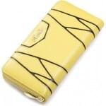 NUCELLE dámská peněženka Leather žlutá