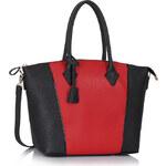 FASHION ONLY dámská kabelka LS00332 Barva: Černo-červená
