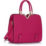 FASHION ONLY dámská kabelka LS00292 Barva: růžová