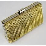 FASHION ONLY společenská kabelka-psaníčko LSE0029 Barva: žlutá