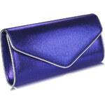 FASHION ONLY společenská kabelka-psaníčko LSE00282 Barva: Modrá