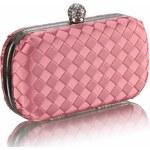FASHION ONLY společenská kabelka-psaníčko LSE00213 Barva: růžová
