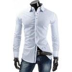 Pánská košile - bílá Velikost: L