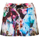 Topshop Mutated Orchid Print Short by Escapology