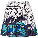 Topshop **Ocean Shark Circle Skirt by Illustrated People