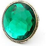 LightInTheBox Vintage Alloy Green Gem Pattern Ring