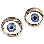 LightInTheBox European And American Trade Jewelry Original Single Retro Punk Devil Eyes Earrings Exaggerated Influx Of People Must E75 E429