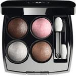 Chanel Les 4 Ombres Eye Shadow 2g Oční stíny W poškozená krabička - Odstín 208 Tissé Gabrielle