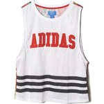 adidas DRAGON PRINT TANK TOP bílá 34