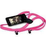 Hi-Fun Tkaničková sluchátka do uší hi-String Pink AD10650-1