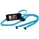 Hi-Fun Tkaničková sluchátka do uší hi-String Blue AD10650-2