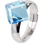 Troli Prsten Cube 8 mm Aquamarine