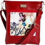 Dara bags Crossbody kabelka Puzzle Ruby No. 8 Martinella