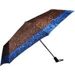 Doppler Dámský skládací plně automatický deštník Romantic Satin - hnědý 744765R02