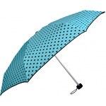 Doppler Dámský skládací mechanický deštník Lolita Mini - tyrkysový 710165D-3