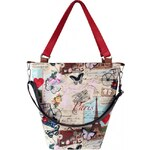 Dara bags Kabelka Basic Bucket No. 56 I love Paris