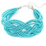 LightInTheBox Bohemian Style Alloy With Beads Hand-made Women's Bracelet (More Colors)