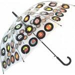 Blooming Brollies Holový vystřelovací deštník Clifton Vinyl CCSVI